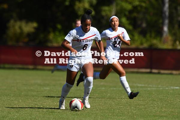 NCAA WOMENS SOCCER:  OCT 21 Richmond at Davidson
