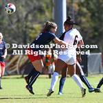 NCAA WOMENS SOCCER:  OCT 21 Richmond at Davidson