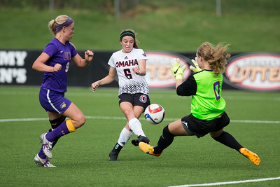 UNO Women's Soccer against University of Northern Iowa