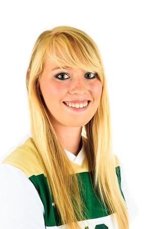 #18 Kirsten Capser<br /> Position: MID<br /> Class: Freshman<br /> Hometown: Nampa, Idaho