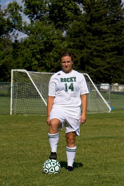 Women's Soccer, Cover Shoot '08