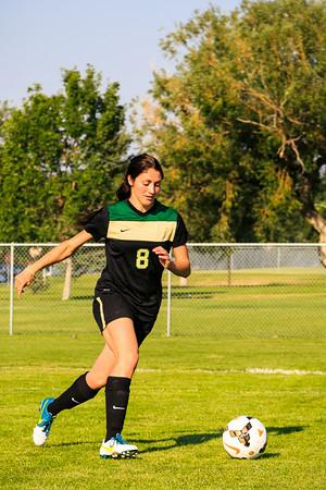 Women's Soccer, In Action '14