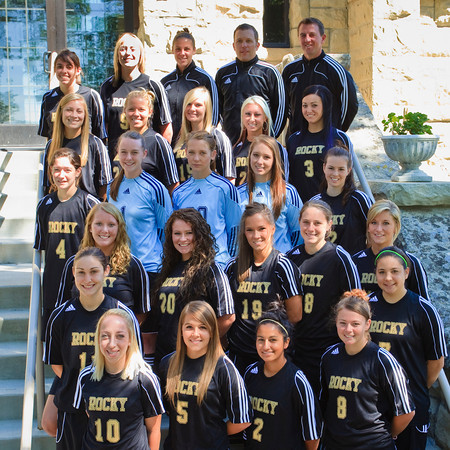 Women's Soccer, Team Photo '10