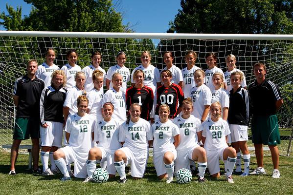Women's Soccer, Team Photos '08