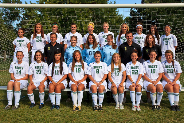 Women's Soccer, Team Photos '09