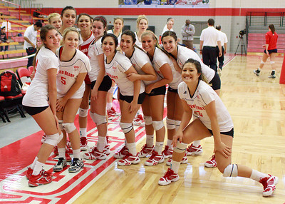Women's Volleyball NEC Champs 2010