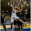 DUke's Tricia Liston (#32) scoring two of her game high 22 points<br /> Duke vs University of California WBB<br /> <br /> Cameron Indoor Stadium<br /> Duke University<br /> Durham, NC