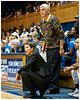 Head Coach Joanne P. McCallie and Assistant Coach Al Brown<br /> Duke vs Georgia Tech WBB<br /> <br /> Cameron Indoor Stadium<br /> Duke University<br /> Durham, NC<br /> December 6, 2012