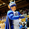 The Blue Devil fires up the crowd at the Women's NCAA Regional Championship.<br /> <br /> Cameron Indoor Stadium<br /> <br /> Duke University<br /> <br /> March 22, 2010