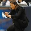 "Coach Joanne McCallie ""(Coach P"") at the  Women's NCAA Regional Championship.<br /> <br /> Cameron Indoor Stadium<br /> <br /> Duke University<br /> <br /> March 22, 2010"