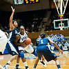 Karima Christmas attacking<br /> <br /> Cameron Indoor Stadium<br /> Duke University<br /> Durham, NC <br /> December 21, 2010