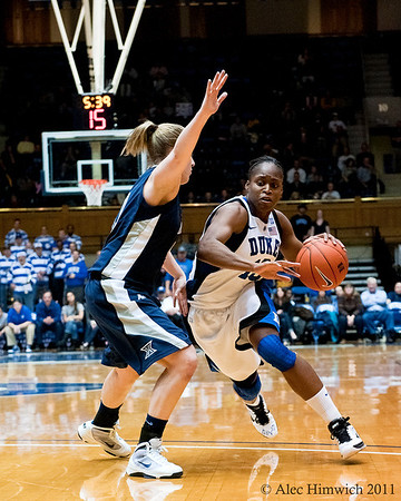 Karima Christmas (Duke, 13)<br /> Cameron Indoor Stadium<br /> Duke University<br /> Durham, NC <br /> December 21, 2010