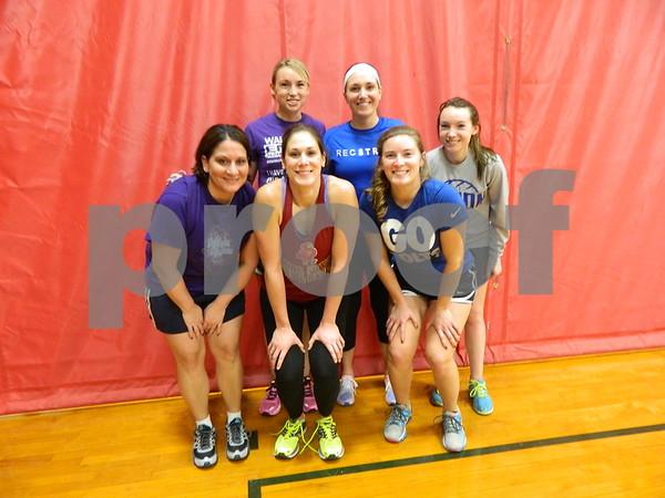 left to right: Angie Totten, Jodi Smith, Martna Stover, Shawna Schiler, Whitney Lioyd, and Brandi Weinzetl.