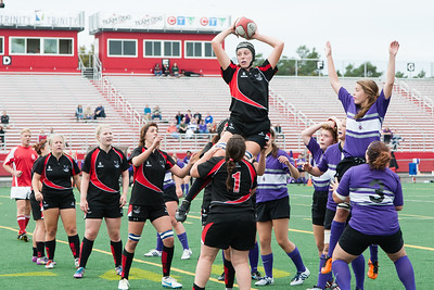 Line out, Michelle Flowers