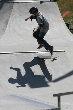 Woodinville Skatepark competition 7/1/07
