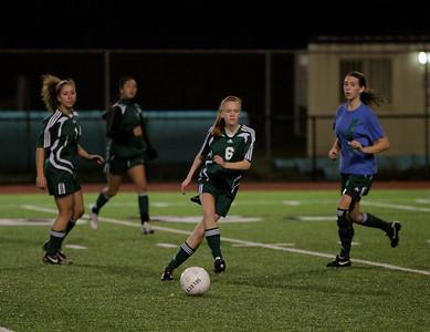 Katrina Neir, Christina Gonzalez, Emily Neubert, Maggie Stinson  Woodinville High Girls Varsity Soccer verse Issaquah High October 6, 2011   ©Neir