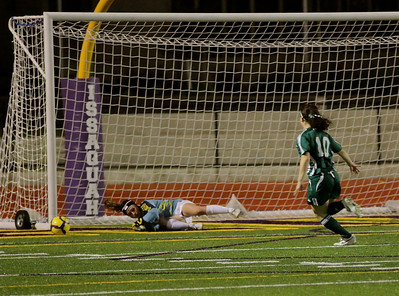 Shot by Sophie Chakalo, follow up by Reagan Quigley Woodinville High Girls Varsity Soccer verse Issaquah High October 6, 2011   ©Neir