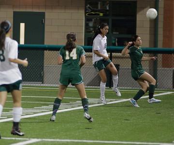 Woodinville High Girls Varsity verse Redmond High September 27, 2011, Pop Keeney Field   ©Neir