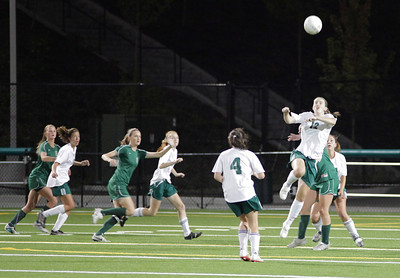 Woodinville High Girls Varsity verse Redmond High September 27, 2011, Pop Keeney Field   ©Neir