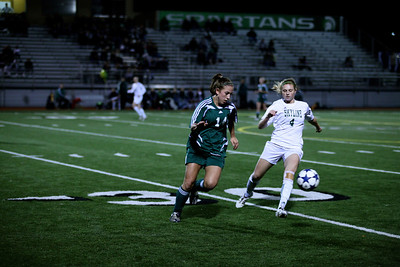"Katrina ""Kat"" Neir  Woodinville High Girls Varsity Soccer verse Skyline High October 20, 2011, ©Neir"