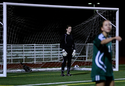 Molly Stinson  Woodinville High Girls Varsity Soccer verse Skyline High October 20, 2011, ©Neir
