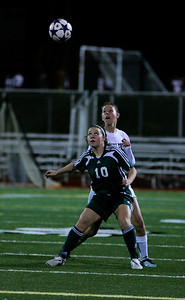 Reagan Quigley,  Woodinville High Girls Varsity Soccer verse Skyline High October 20, 2011, ©Neir
