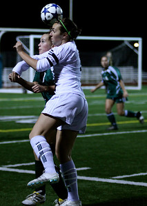 Alex Blaser  Woodinville High Girls Varsity Soccer verse Skyline High October 20, 2011, ©Neir