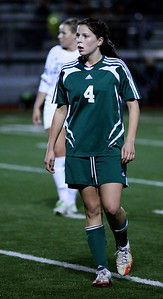 Haley Fay  Woodinville High Girls Varsity Soccer verse Skyline High October 20, 2011, ©Neir