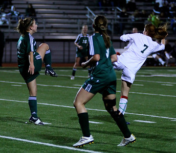 "Katrina ""Kat"" Neir,  Alex Blaser  Woodinville High Girls Varsity Soccer verse Skyline High October 20, 2011, ©Neir"
