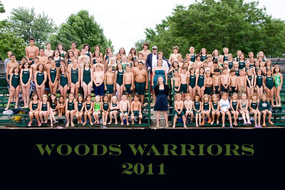 2011 Team Photos...See additional 2011 Swimming pictures in the Sports folder below