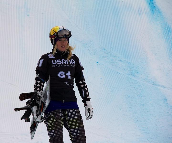 Canadian Snowboarder,<br /> Dominique Maltais, Canada