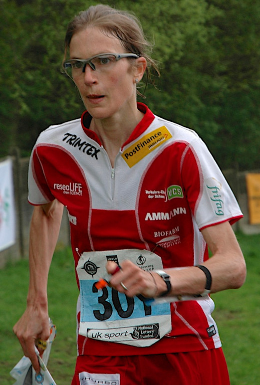 Simone Niggli-Luder - the most successful female orienteer of all time.