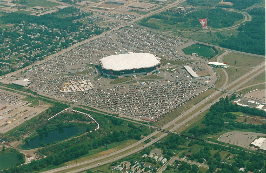 . The 1994 World Cup opening-round games were held at The Pontiac Silverdome. Oakland Press file photo