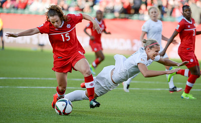 CANADA SOCCER FIFA WOMEN'S WORLD CUP 2015