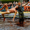 2015 World Gravy Wrestling Championships, Stackstead, England. Aug 29th