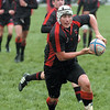 Westerville Worms co-captain Zach Slupski looks to pass during the Ohio Rugby Classic at Lou Berliner Park on Saturday.