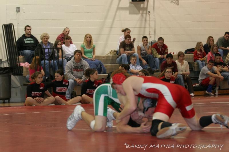 Wrestling Lawson vs Smithville 1021