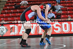 13 January 2011:  Davidson takes on Duke in wrestling action at Belk Arena in Davidson, North Carolina.