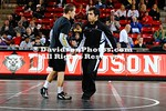 15 November 2012: For the first time in program history, Davidson wrestling hosted a Big 10 team when No. 5 Ohio State visited the Wildcats at Belk Arena in Davidson, North Carolina.