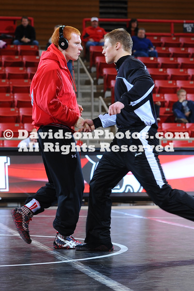 NCAA WRESTLING:  JAN 15 Gardner-Webb at Davidson