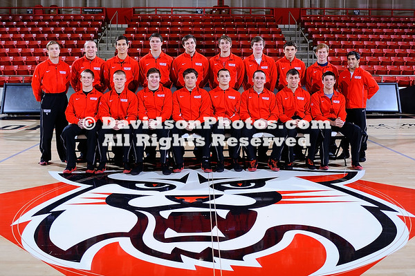 NCAA WRESTLING:  JAN 26 Davidson Team Photo