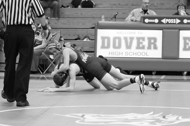 2016-17 Eastern  York Varsity Wrestling vs Dover