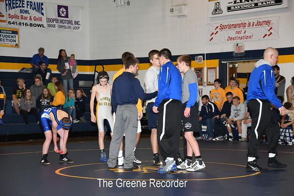 Wrestling vs Newman and Crestwood