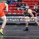 NCAA WRESTLING:  JAN 26 Campbell at Davidson