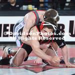 NCAA WRESTLING:  FEB 16 Davidson at Gardner-Webb