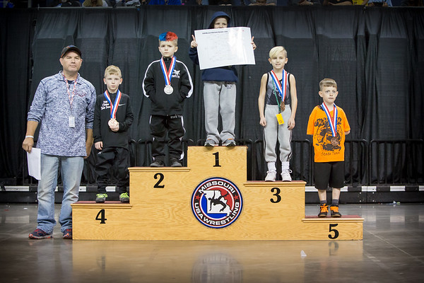 2018 MO USAW Folkstyle State Podiums