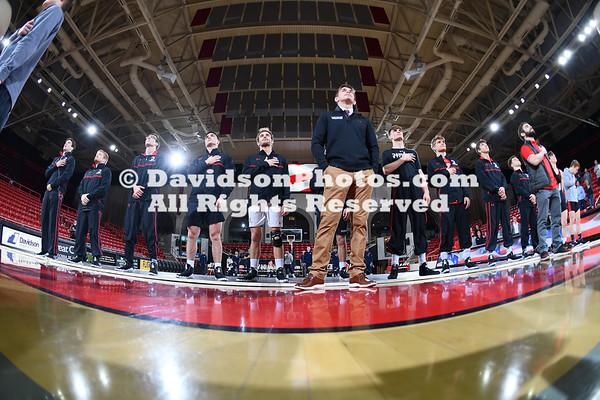 NCAA WRESTLING:  JAN 09 Cal Baptist at Davidson
