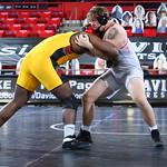 NCAA WRESTLING:  JAN 23 VMI at Davidson