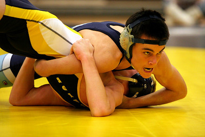 The Look.    Ryan Robles pins Loudoun County.