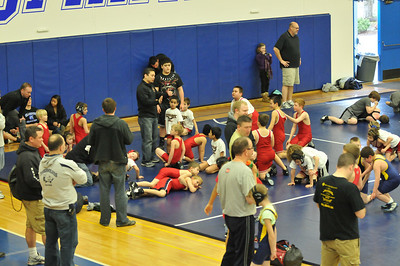 Caiden Wrestling District Championships - 2011